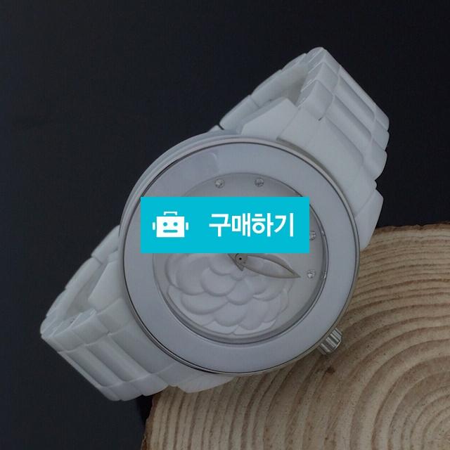 샤넬 까멜리아 은장세라믹 여성용   B2 / 럭소님의 스토어 / 디비디비 / 구매하기 / 특가할인
