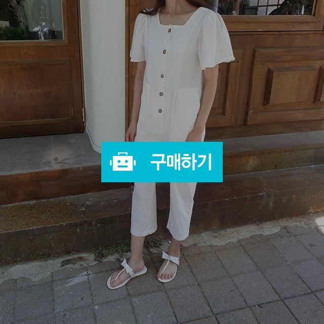 스퀘어 넥 린넨 점프슈트 / 옹드로이님의 스토어 / 디비디비 / 구매하기 / 특가할인