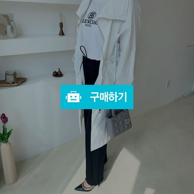 무지 오버핏 스트링 여름 야상 점퍼 / 행온님의 스토어 / 디비디비 / 구매하기 / 특가할인