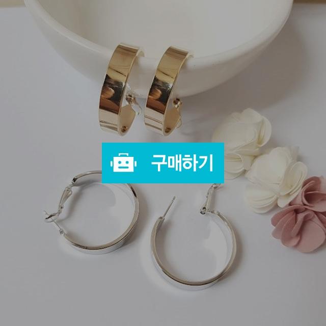 콜린 민자링 귀걸이 / 체리코코아 / 디비디비 / 구매하기 / 특가할인