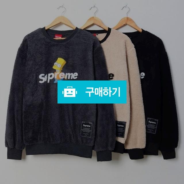 슈프림 심슨 퍼맨투맨 (2018 겨울신상)  / 럭소님의 스토어 / 디비디비 / 구매하기 / 특가할인