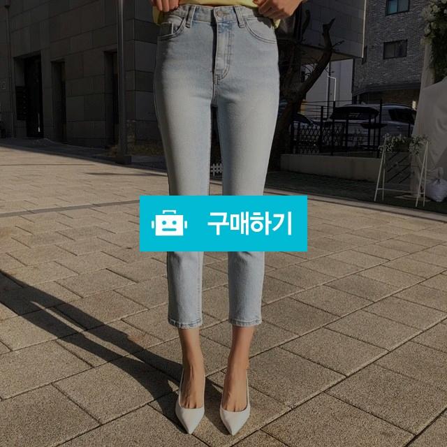 9부 연청 슬림 일자핏 데님 팬츠 / jwithl / 디비디비 / 구매하기 / 특가할인