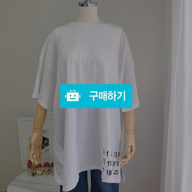 오버핏 레터링 포인트 박시 반팔티 / 8381pj님의 스토어 / 디비디비 / 구매하기 / 특가할인