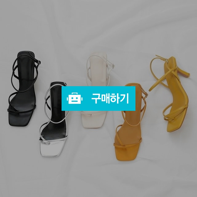 쪼리 스트랩 슬링백 샌들힐 8cm / 네오마켓 / 디비디비 / 구매하기 / 특가할인