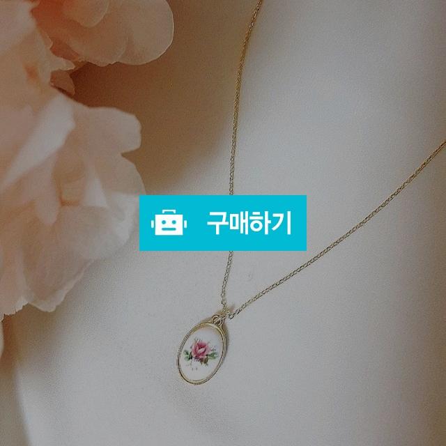앤틱 플라워 목걸이  / 핑크래빗 / 디비디비 / 구매하기 / 특가할인