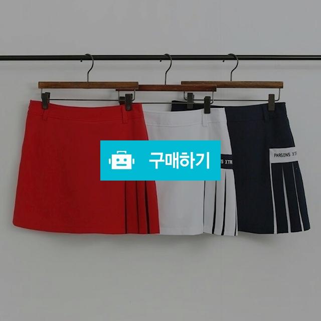 PXG 여성 사이드로고 스커트 / 이쁨주의 / 디비디비 / 구매하기 / 특가할인
