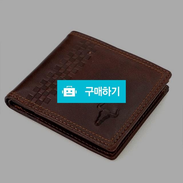 브라운 리얼 가죽 남성반지갑 / 무무에이티님의 스토어 / 디비디비 / 구매하기 / 특가할인