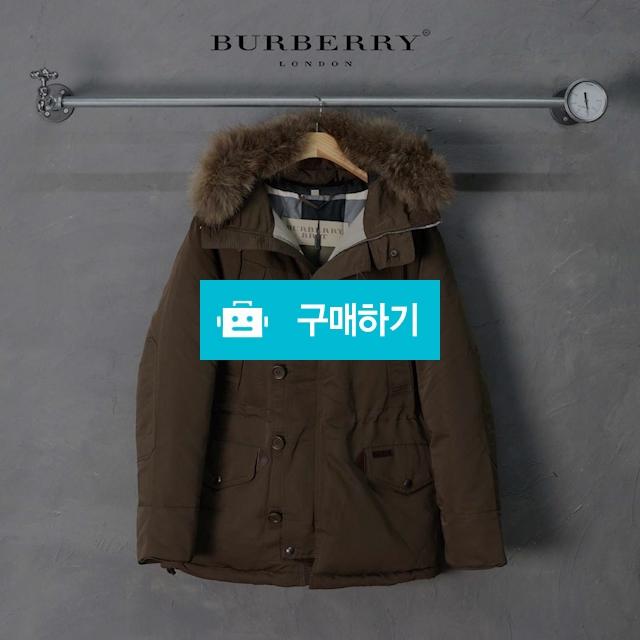 [Burberry] 버버리 18FW 모즈 오리털 라쿤 파카 / 럭소님의 스토어 / 디비디비 / 구매하기 / 특가할인