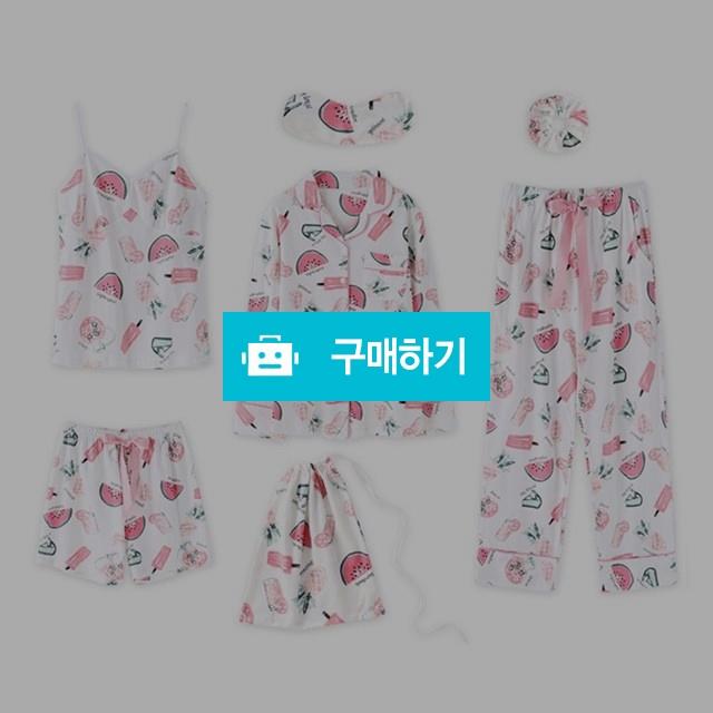 수박 여자 면 잠옷세트 7종 / 프리판다님의 스토어 / 디비디비 / 구매하기 / 특가할인