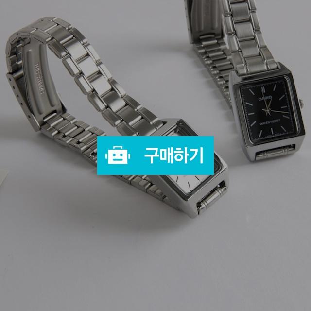 CASIO 메탈 스퀘어 카시오 여자손목시계 / 파이니스트 아워 / 디비디비 / 구매하기 / 특가할인