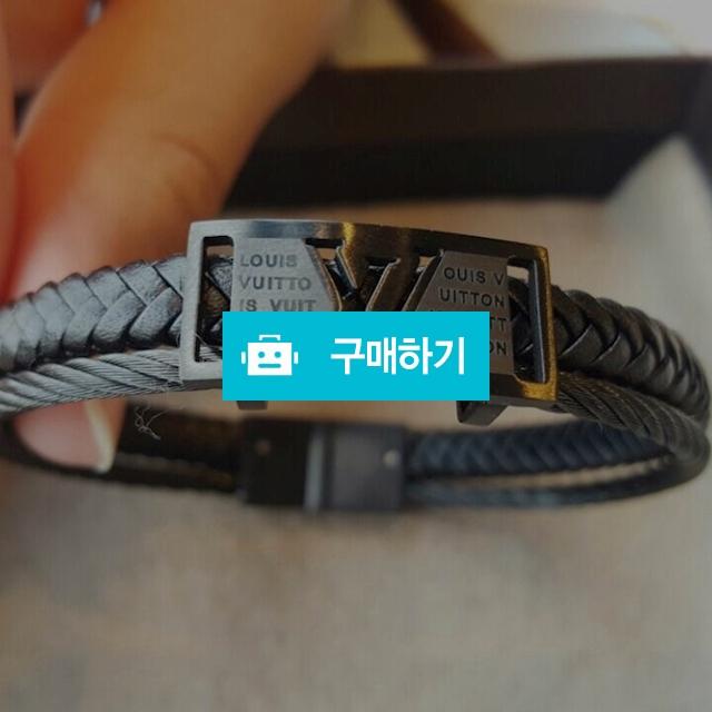 루이 소가죽 두줄 브라이슬릿  블랙 팔찌 / 마틸다샵 / 디비디비 / 구매하기 / 특가할인