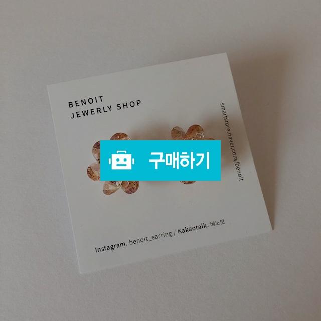 베노잇 봄 꽃 포인트 화려한 이어링 은침 포인트 악세사리 / 베노잇 / 디비디비 / 구매하기 / 특가할인
