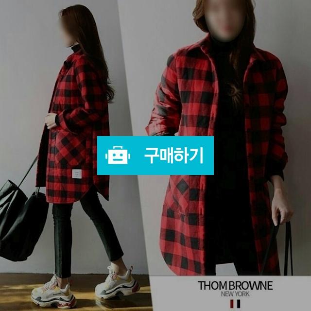 THOMBROWNE 18FW BrandNew Check-quilting long shirt / 럭소님의 스토어 / 디비디비 / 구매하기 / 특가할인