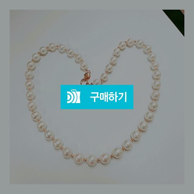 14k 18k 담수진주8mm 목걸이 / 엘앤제이쥬얼리님의 스토어 / 디비디비 / 구매하기 / 특가할인