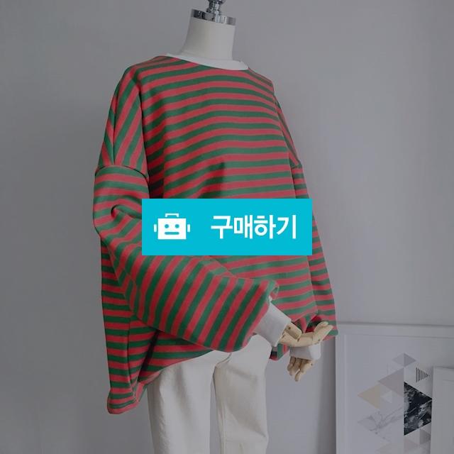스프라이프 배색 루즈핏 맨투맨 / 8381pj님의 스토어 / 디비디비 / 구매하기 / 특가할인