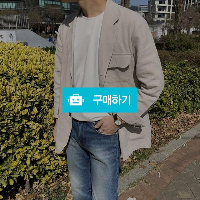 남자 봄,여름 루즈핏 린넨자켓 (3color) / 남친룩 민투아이 / 디비디비 / 구매하기 / 특가할인