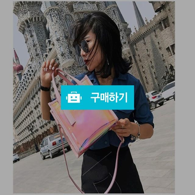 홀로그램 pvc백 2color / 여블리샵님의 스토어 / 디비디비 / 구매하기 / 특가할인