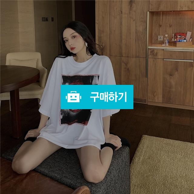 CHRIS 프린팅 반팔티셔츠 / 여성쇼핑몰 이즈굿 / 디비디비 / 구매하기 / 특가할인