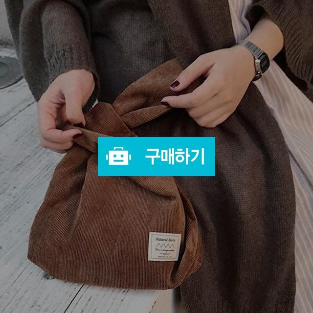 [당일발송]코듀로이 손목가방 미니 에코백 Y14 / 뉴엔 / 디비디비 / 구매하기 / 특가할인