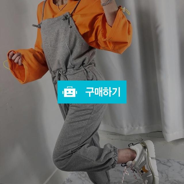 여자 쭈리 면 포켓 트레이닝 조거 멜빵바지 / 비쥬비님의 스토어 / 디비디비 / 구매하기 / 특가할인