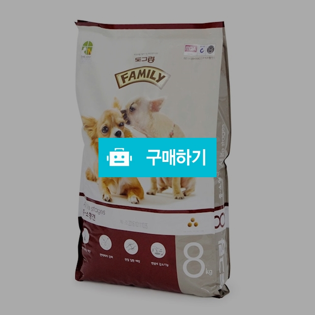 도그랑 패밀리 어덜트 8kg / 몽이냥이님의 스토어 / 디비디비 / 구매하기 / 특가할인