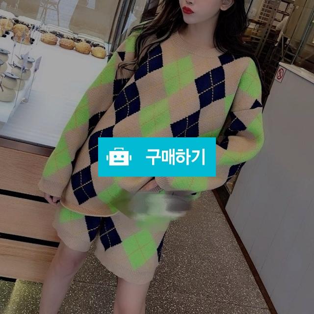 톰브라운 컬러 니트탑+팬츠 세트   T1 / 럭소님의 스토어 / 디비디비 / 구매하기 / 특가할인