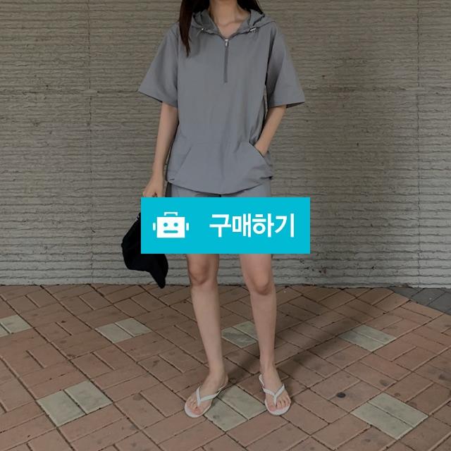 여름 썸머 남녀 아노락 세트 후드 트레이닝 커플룩 / 플레른님의 스토어 / 디비디비 / 구매하기 / 특가할인