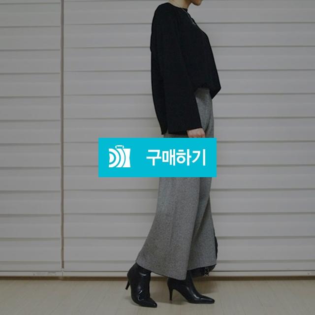 밴딩 와이드 통 헤링본 팬츠 / SHINs SENSE / 디비디비 / 구매하기 / 특가할인
