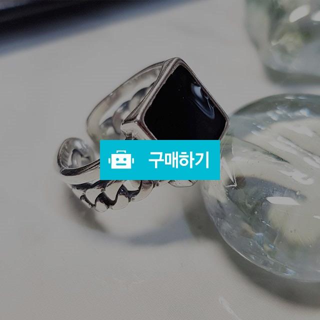 사각오닉스실버반지 / 쏘꼬님의 스토어 / 디비디비 / 구매하기 / 특가할인