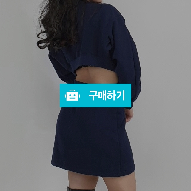 트임 퍼프 맨투맨 미니원피스 / 설세라 / 디비디비 / 구매하기 / 특가할인