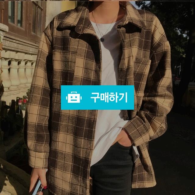 오버핏 체크 패턴 셔츠 남방 / keemsoj님의 스토어 / 디비디비 / 구매하기 / 특가할인