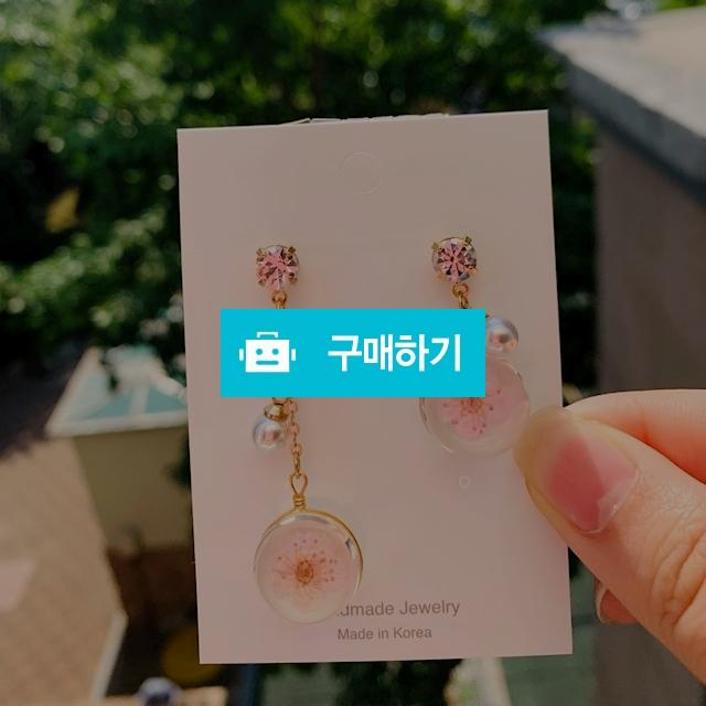 생화분홍꽃귀걸이 / PinkFlower / 디비디비 / 구매하기 / 특가할인