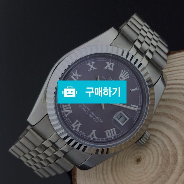 로렉스 로마인덱스 퍼플 남성중자  - B2 / 럭소님의 스토어 / 디비디비 / 구매하기 / 특가할인