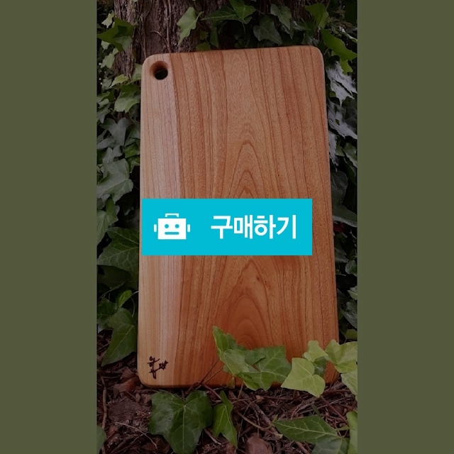 느티나무 도마 / 응공공방님의 스토어 / 디비디비 / 구매하기 / 특가할인