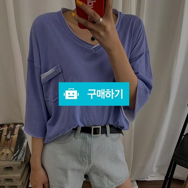 [무료배송] 포켓 루즈핏 트임 피그먼트 티셔츠 / 라인스트릿님의 스토어 / 디비디비 / 구매하기 / 특가할인