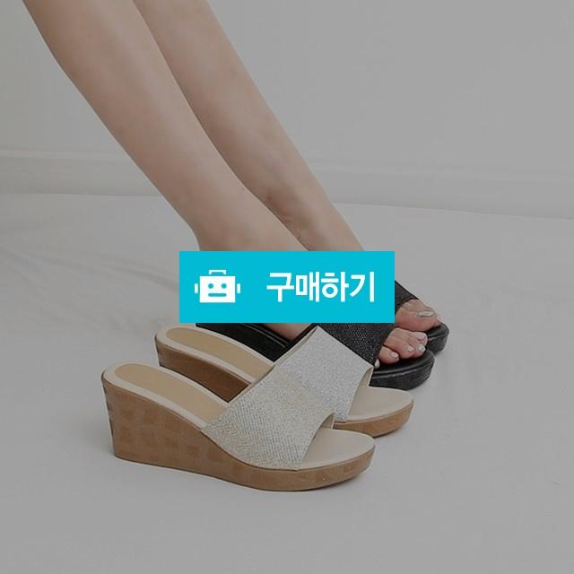 글리터 웨지 뮬 슬리퍼 / 네오마켓 / 디비디비 / 구매하기 / 특가할인