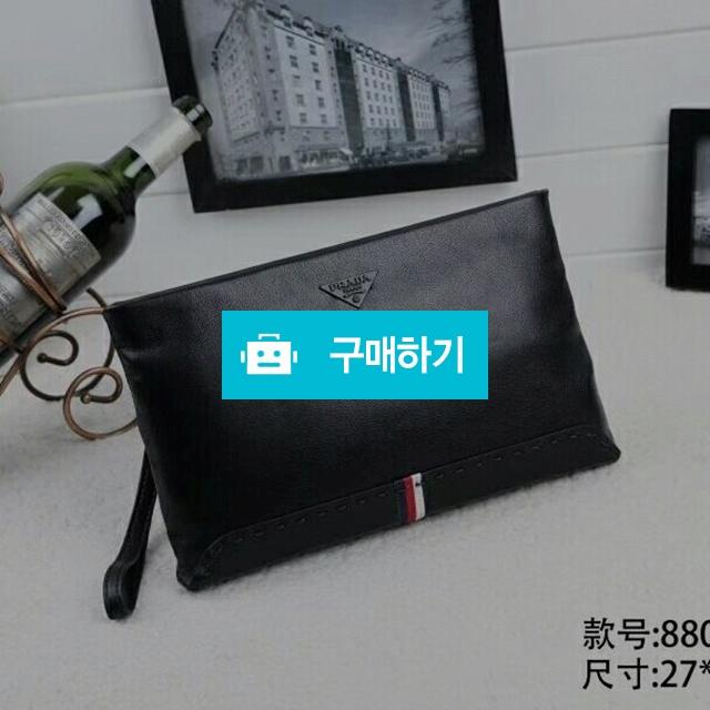 프라다 블랙 이니셜 클러치  / 럭소님의 스토어 / 디비디비 / 구매하기 / 특가할인