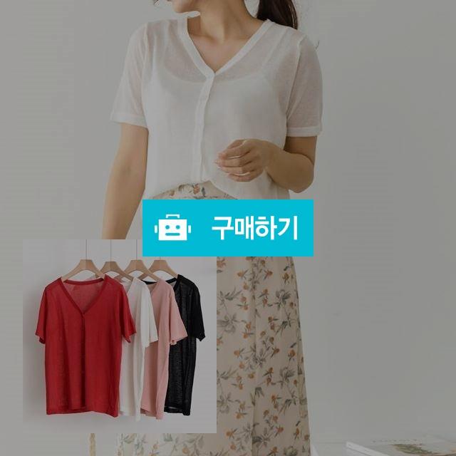 여름 기본 베이직 반팔니트 가디건  / 예쁨마켓님의 스토어 / 디비디비 / 구매하기 / 특가할인