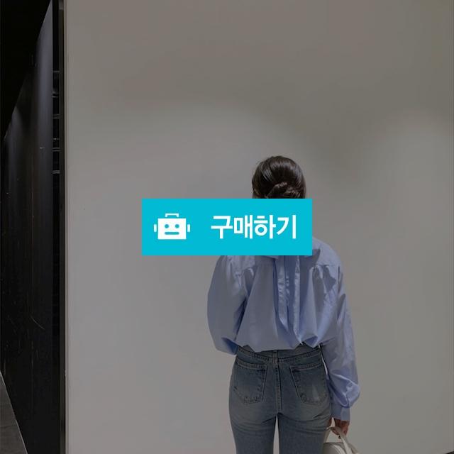 핸리넥 벌룬 리본 셔츠 블라우스 / 굿데이지님의 스토어 / 디비디비 / 구매하기 / 특가할인