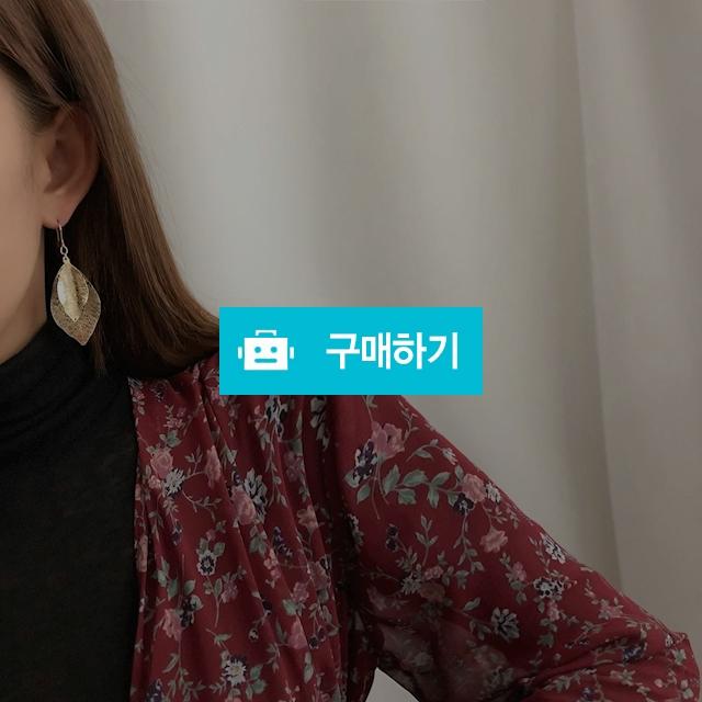 투 리프 엔틱 드롭귀걸이 / 에그시티 / 디비디비 / 구매하기 / 특가할인