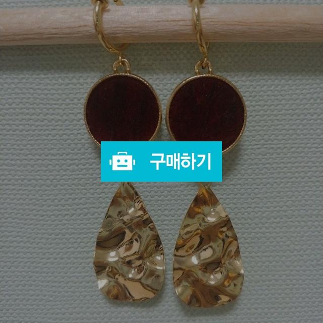 라운드레드 잎 귀찌 (귀걸이 가능) / 보니따님의 스토어 / 디비디비 / 구매하기 / 특가할인