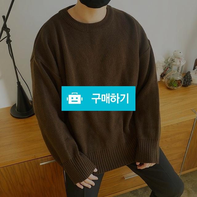 봄 무지 오버핏 라운드 캐쥬얼 레알오버핏니트 / wook님의 스토어 / 디비디비 / 구매하기 / 특가할인