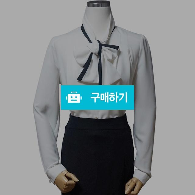 봄 가을 리본 배색 타이 스카프 블라우스 / 오드리옷짱 / 디비디비 / 구매하기 / 특가할인