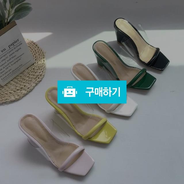 에나멜 투명 웨지힐 슬리퍼  / 쭈나다님의 스토어 / 디비디비 / 구매하기 / 특가할인