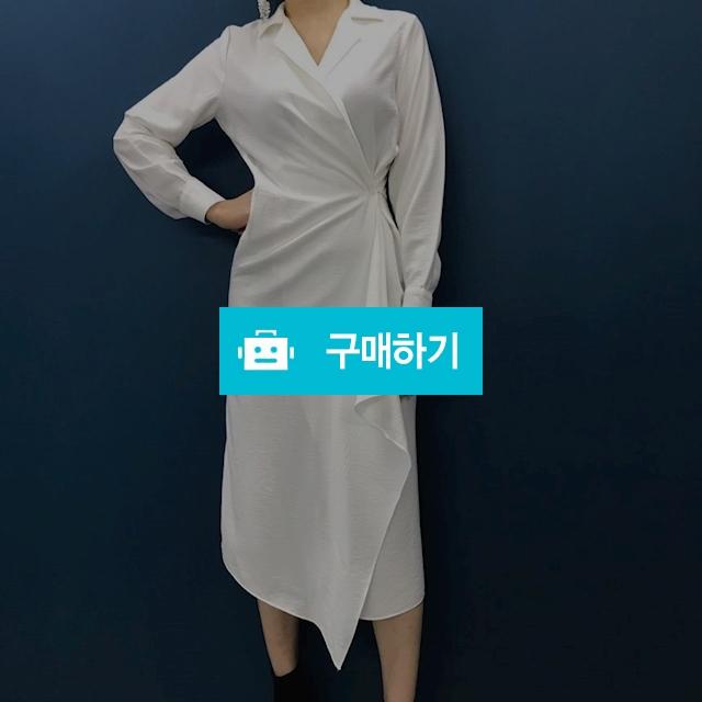 루즈핏 로브 랩 셔츠 롱 원피스 / 김체리님의 스토어 / 디비디비 / 구매하기 / 특가할인