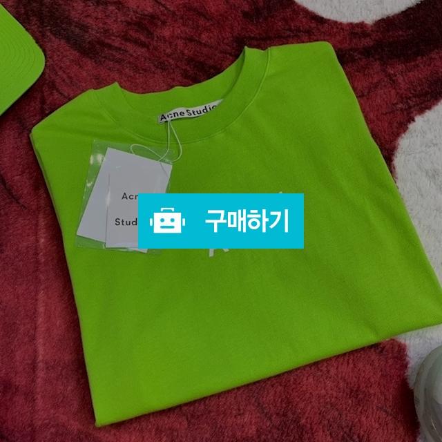 아크네 형광연두 반팔T / JUN패션스토리 / 디비디비 / 구매하기 / 특가할인