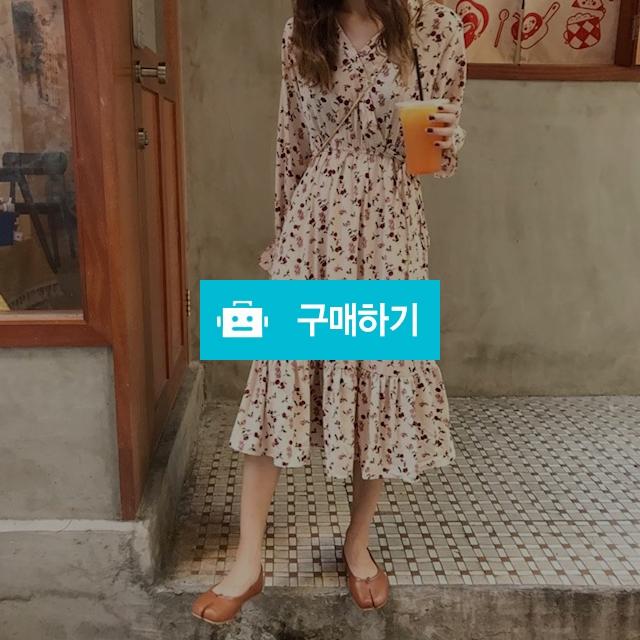 [당일배송] 봄신상♥ 플라워 쉬폰 롱원피스 / 가빈뚠 / 디비디비 / 구매하기 / 특가할인