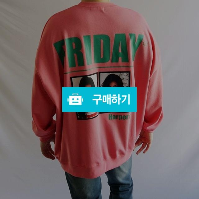 봄 캐주얼 기본 남녀공용 프리사이즈 프라이데이맨투맨 / wook님의 스토어 / 디비디비 / 구매하기 / 특가할인