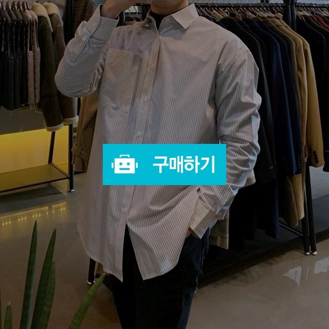스트라이프 오버핏 코튼 베이직 셔츠 / 노성래님의 스토어 / 디비디비 / 구매하기 / 특가할인