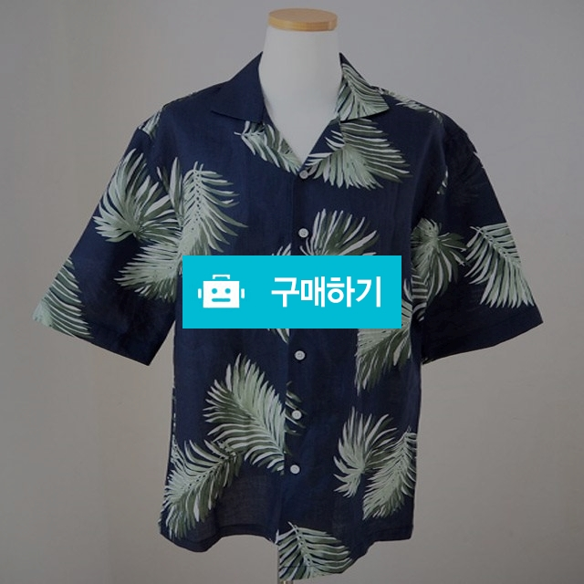 커플 시밀러룩 하와이안 야자수 셔츠 + 원피스 세트 / 데일리룩 멜로디민 / 디비디비 / 구매하기 / 특가할인